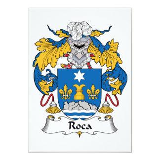Roca Family Crest Card