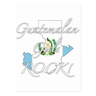 ¡Roca guatemalteca de los chicas! Postales