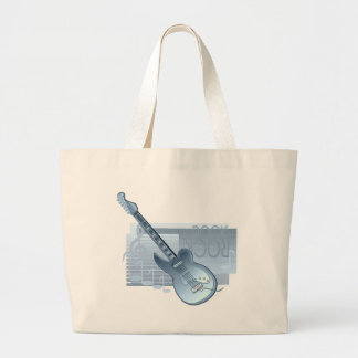 Roca - guitarra azul bolsa