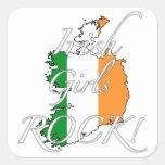 ¡Roca irlandesa de los chicas! Etiqueta