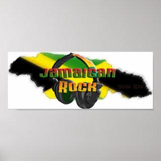 Roca jamaicana impresiones