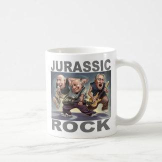 Roca jurásica tazas de café