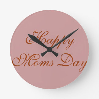 Roca las veinticuatro horas del día con la mamá reloj