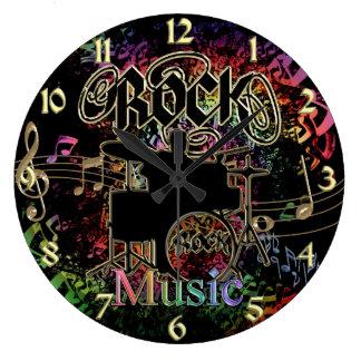 Roca las veinticuatro horas del día también reloj redondo grande