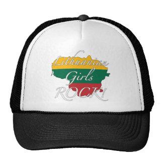 ¡Roca lituana de los chicas! Gorra