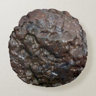 Roca mojada cojín redondo