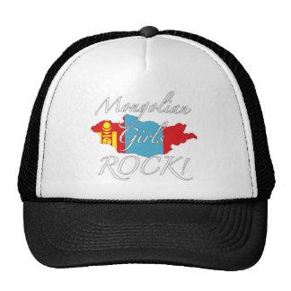 ¡Roca mongol de los chicas! Gorro