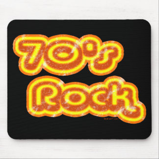 roca Mousepad de los años 70 Tapete De Ratones