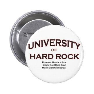 roca música-dura pin redondo 5 cm