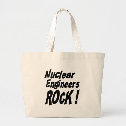 ¡Roca nuclear de los ingenieros! La bolsa de asas