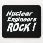 ¡Roca nuclear de los ingenieros! Mousepad Tapetes De Raton