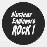 ¡Roca nuclear de los ingenieros! Pegatina