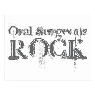 Roca oral de los cirujanos postal