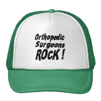 ¡Roca ortopédica de los cirujanos! Gorra