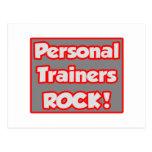 ¡Roca personal de los instructores! Postal