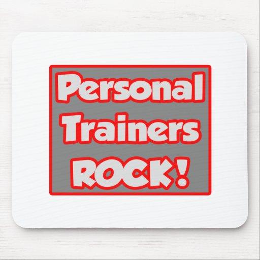 ¡Roca personal de los instructores! Alfombrilla De Ratones