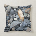 Roca, piedra, almohada de la grava de la playa