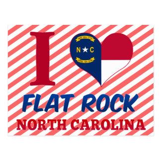 Roca plana, Carolina del Norte Tarjetas Postales