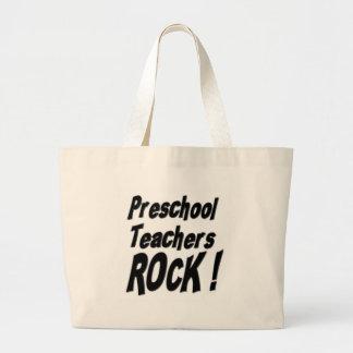 ¡Roca preescolar de los profesores! La bolsa de as