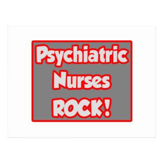 ¡Roca psiquiátrica de las enfermeras! Tarjeta Postal