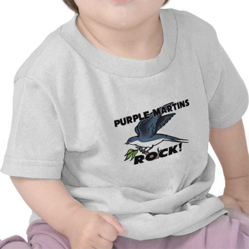 Roca púrpura de Martins Camisetas