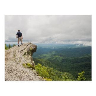 Roca que sopla en Carolina del Norte Postal