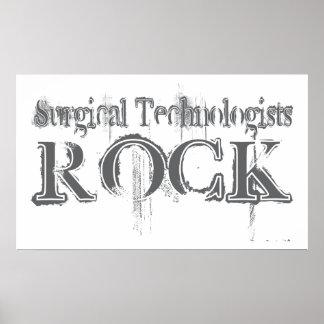 Roca quirúrgica de los tecnólogos impresiones
