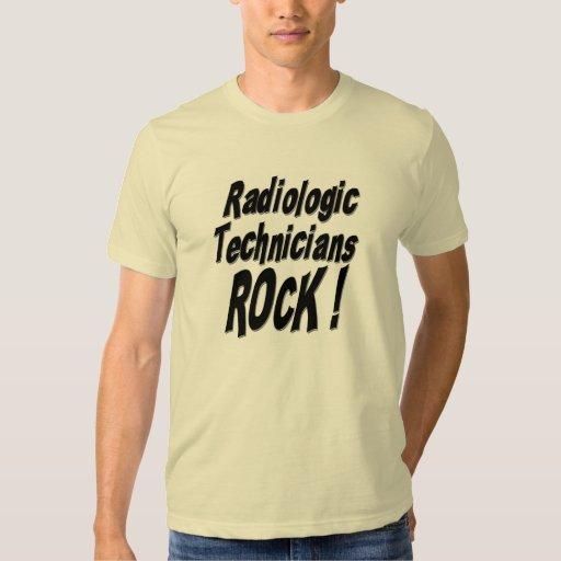 ¡Roca radiológica de los técnicos! Camiseta Poleras