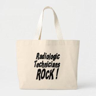 ¡Roca radiológica de los técnicos! La bolsa de