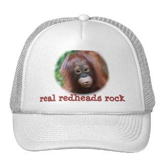 roca real de los redheads gorras