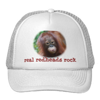roca real de los redheads gorras de camionero