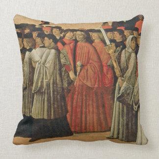 Roca roja, c.1895 (aceite en lona) 2 almohadas