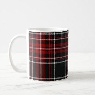 Roca roja de la tela escocesa - taza #2