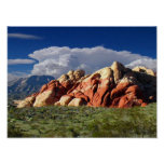 Roca roja Neveda AF000101 Poster