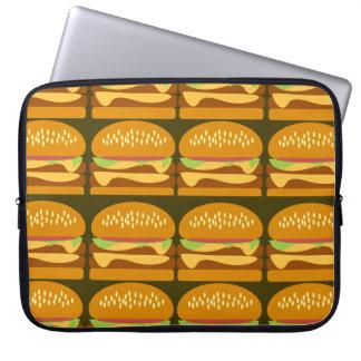 Roca sabrosa de los cheeseburgers manga portátil