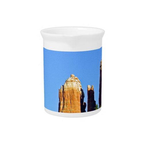 Roca Sedona de la catedral Jarrones