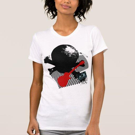 Roca Skullz Camiseta