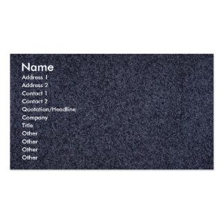 Roca sólido mediterránea tarjetas de visita