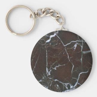 Roca sólido rota llaveros personalizados