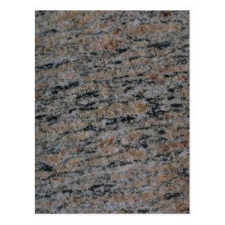 Roca sólido sedimentaria postal