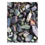 Roca sólido tarjetas postales