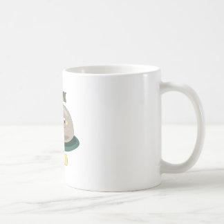 Roca sólido taza básica blanca