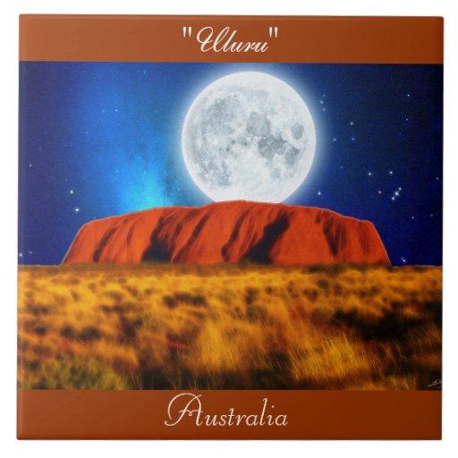 """Roca """"Uluru 6' de Ayers del australiano interior t Tejas Cerámicas"""