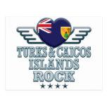 Roca v2 de Turks and Caicos Islands Postal