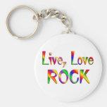 Roca viva del amor llavero