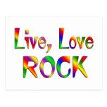 Roca viva del amor postal
