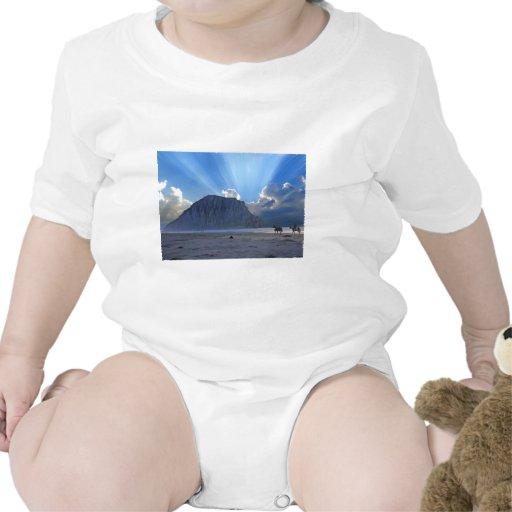 Roca y caballos de Morro Trajes De Bebé
