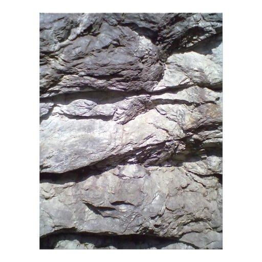 Roca y piedra tarjetón