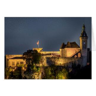 Rocamador France at Night Greeting Card