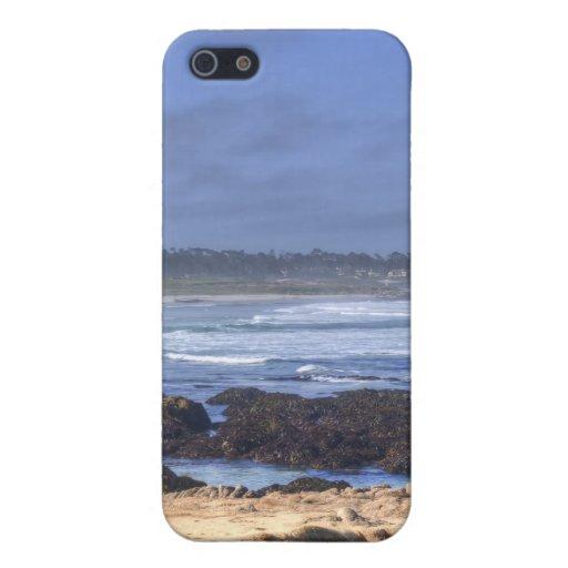 Rocas antes de la playa iPhone 5 cobertura